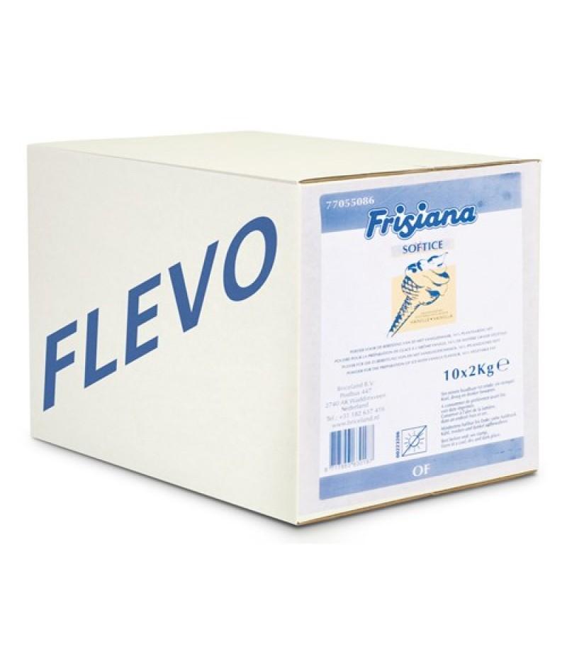 NIC Frisiana Flevo 16,4% PV IJsmixpoeder 16x1 Kilo