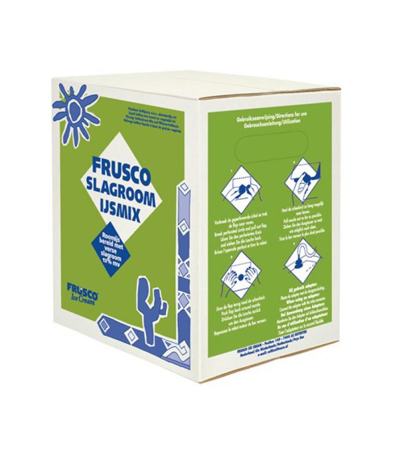 NIC Frusco Slagroom IJsmix Vloeibaar 10% MV 10 Liter