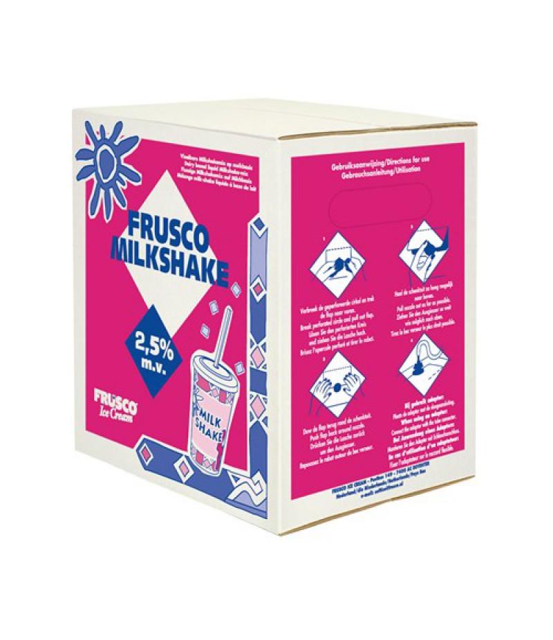 NIC Frusco Milkshake Vloeibaar 2,5% MV