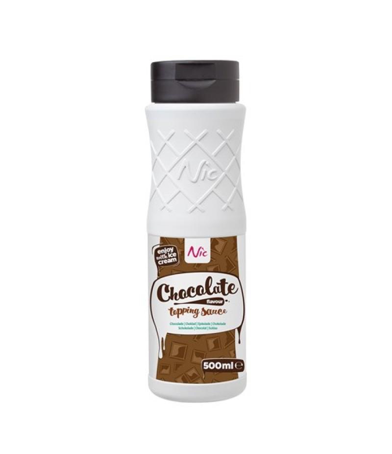 NIC Topping Chocolade 0,5 Liter