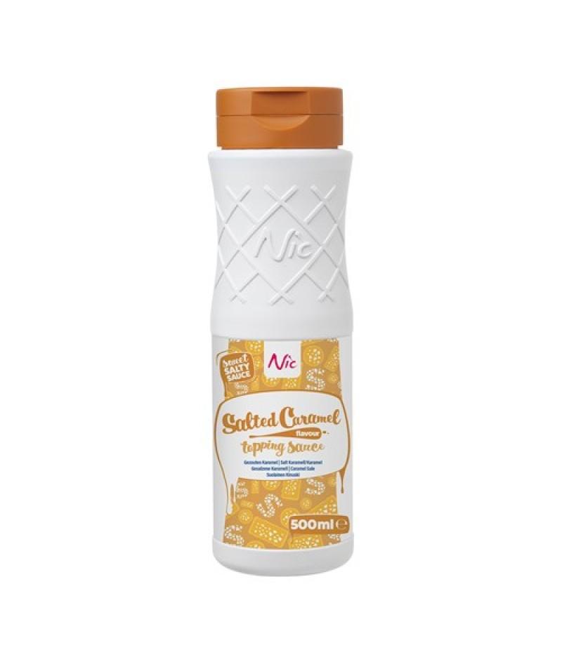NIC Topping Gezouten Caramel 0,5 Liter