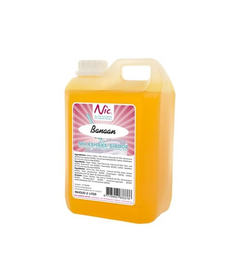 NIC Milkshake Banaan 2 Liter