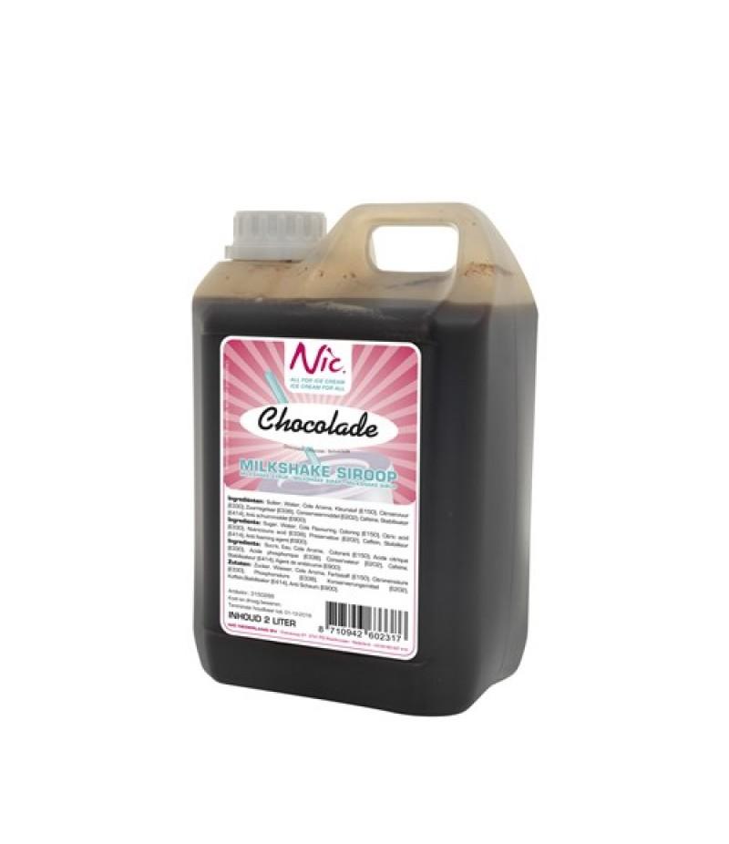 NIC Milkshake Chocolade 2 Liter