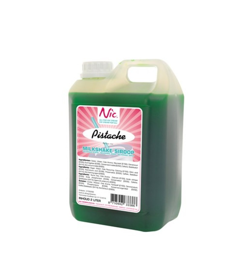 NIC Milkshake Pistache 2 Liter