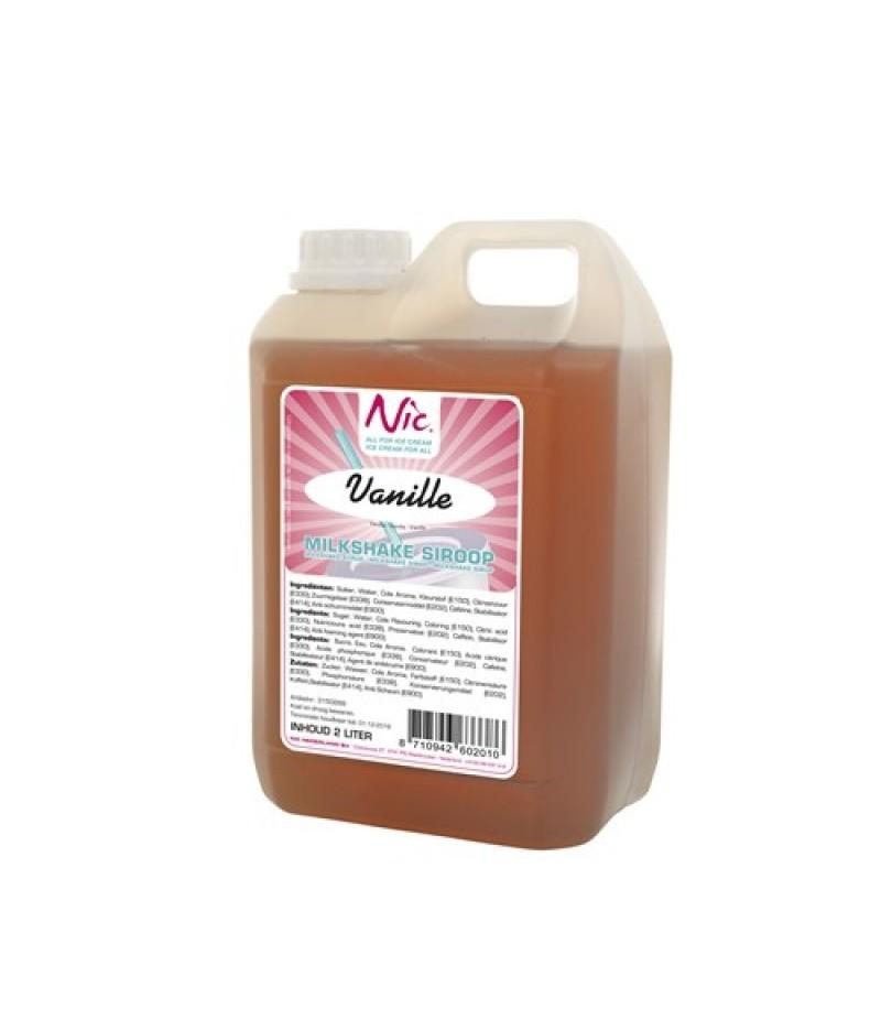 NIC Milkshake Vanille 2 Liter