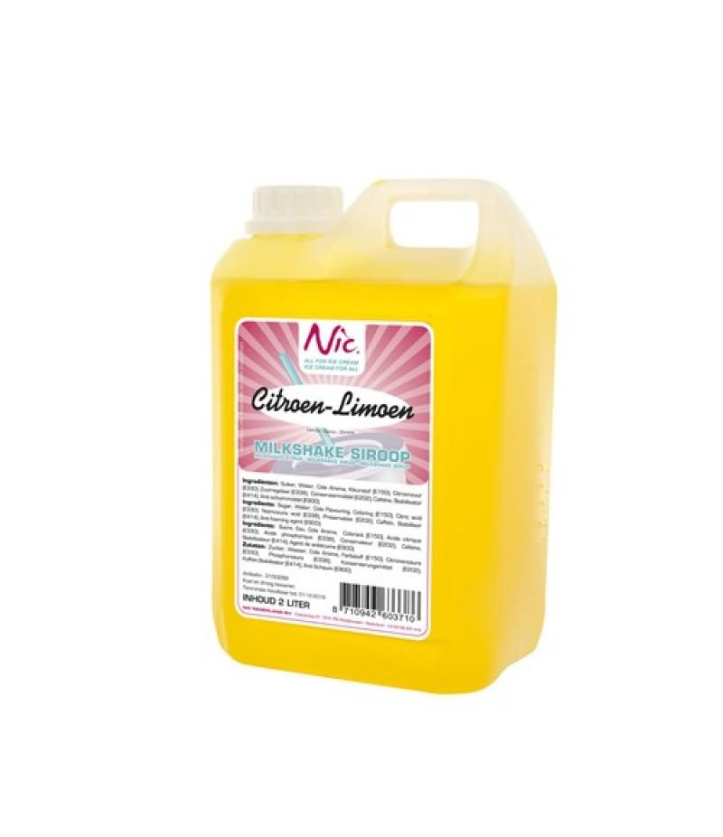NIC Milkshake Citroen/Limoen 2 Liter