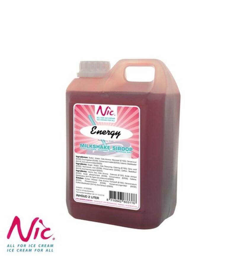 NIC Milkshake Energy 2 Liter UITLOOP OP=OP