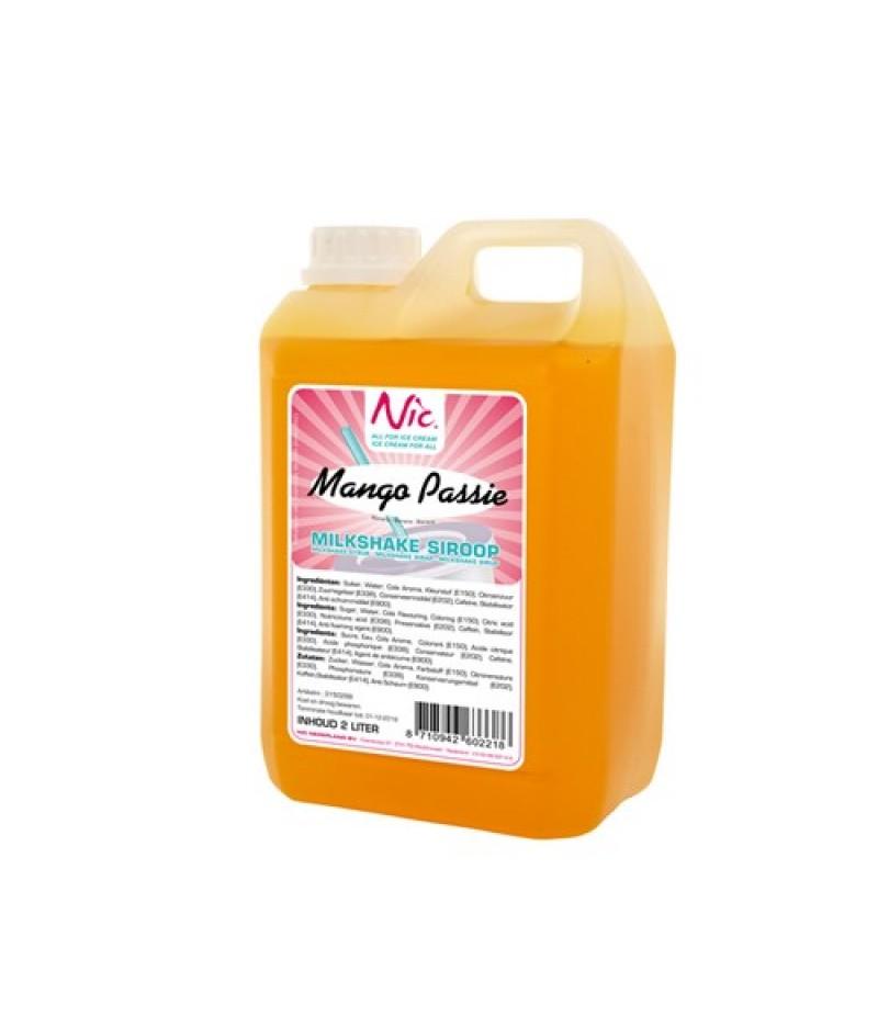 NIC Milkshake Mango/Passie 2 Liter