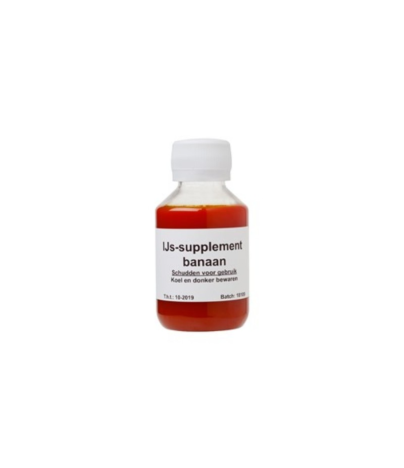 NIC Banaan IJs-Supplement 6x100ml
