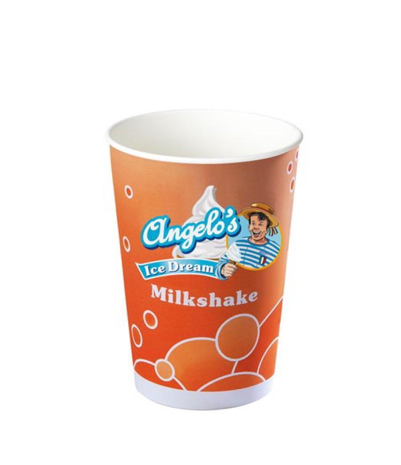 NIC Angelo's Shake-/IJsbeker 400ml 50 Stuks OP=OP