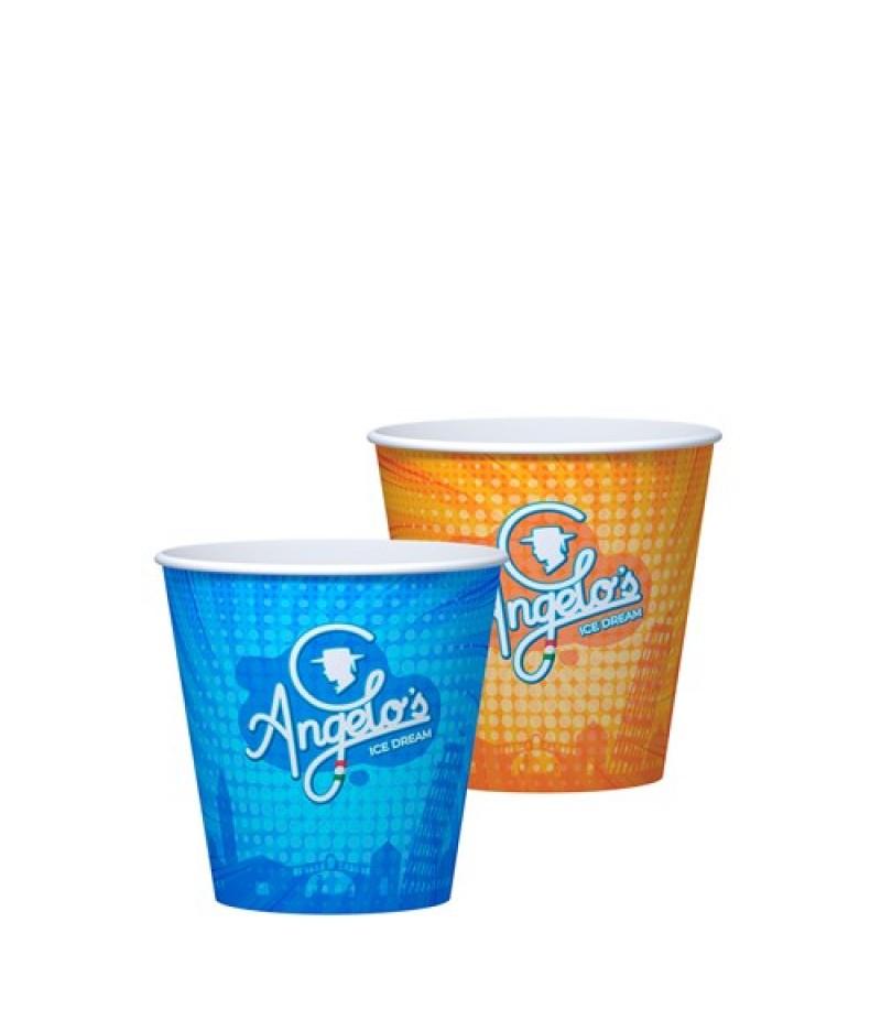 NIC Angelo`s Milkshake-/IJsbeker 300ml 50 Stuks