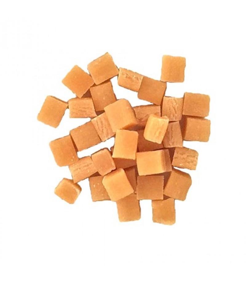 Mini Caramelblokjes 5x5x5mm 1250 gram