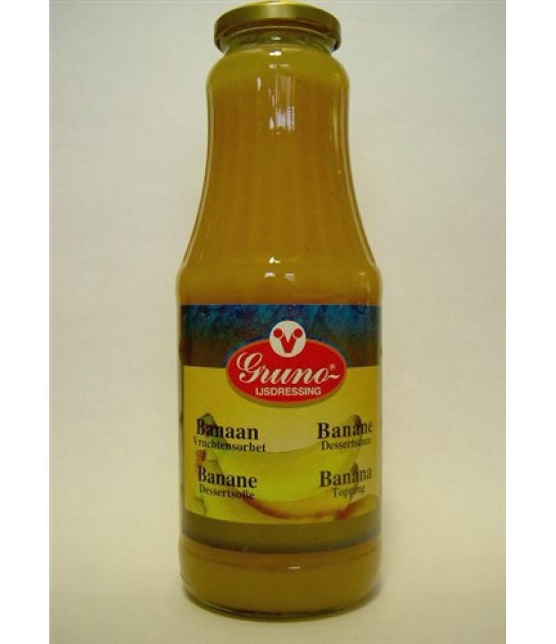 Gruno Banaan Sorbetsaus 1 Liter