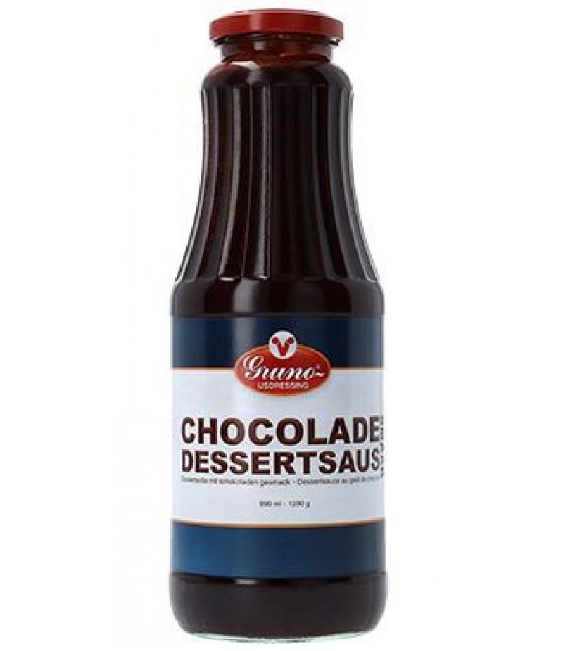 Gruno Chocolade Sorbetsaus 1 Liter