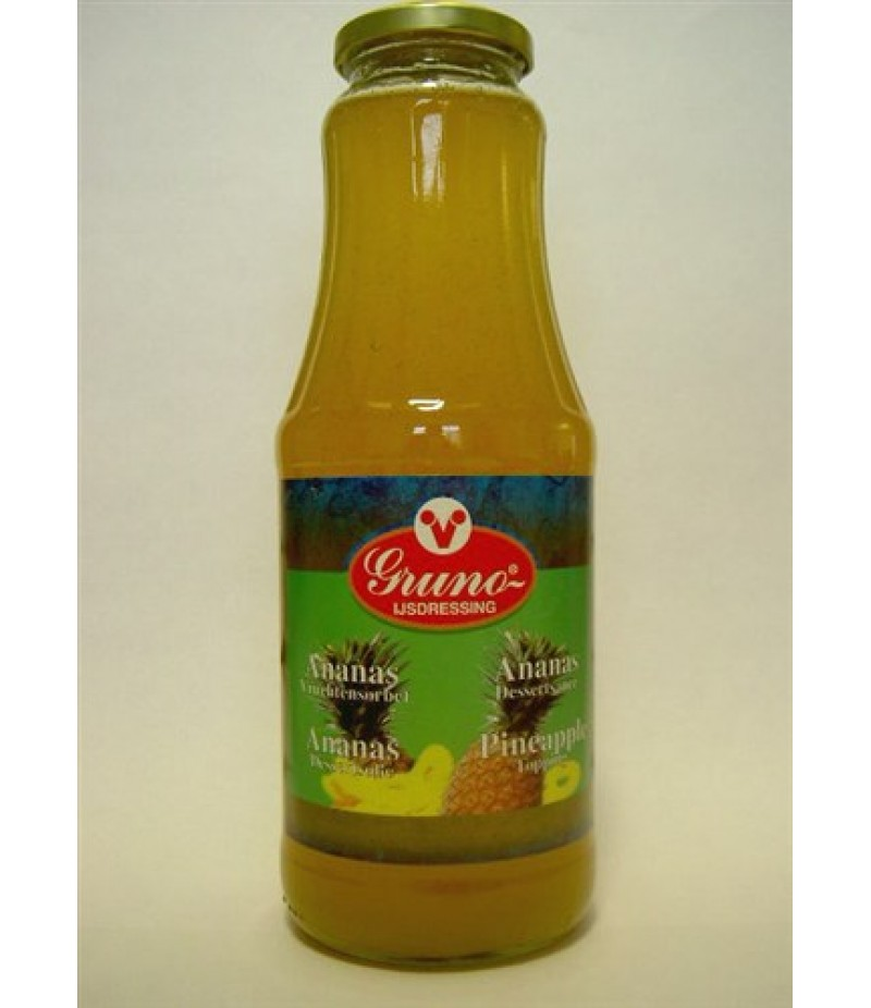 Gruno Ananas Sorbetsaus 1 Liter