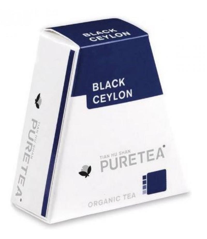 Puretea Black Ceylon White Line 18 Stuks