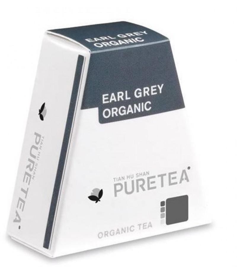 Puretea Earl Grey Organic White Line 18 Stuks