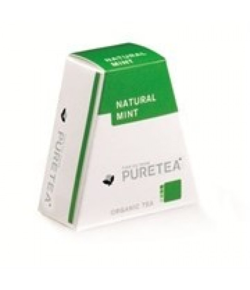 Puretea Naturel Mint White Line 18 Stuks