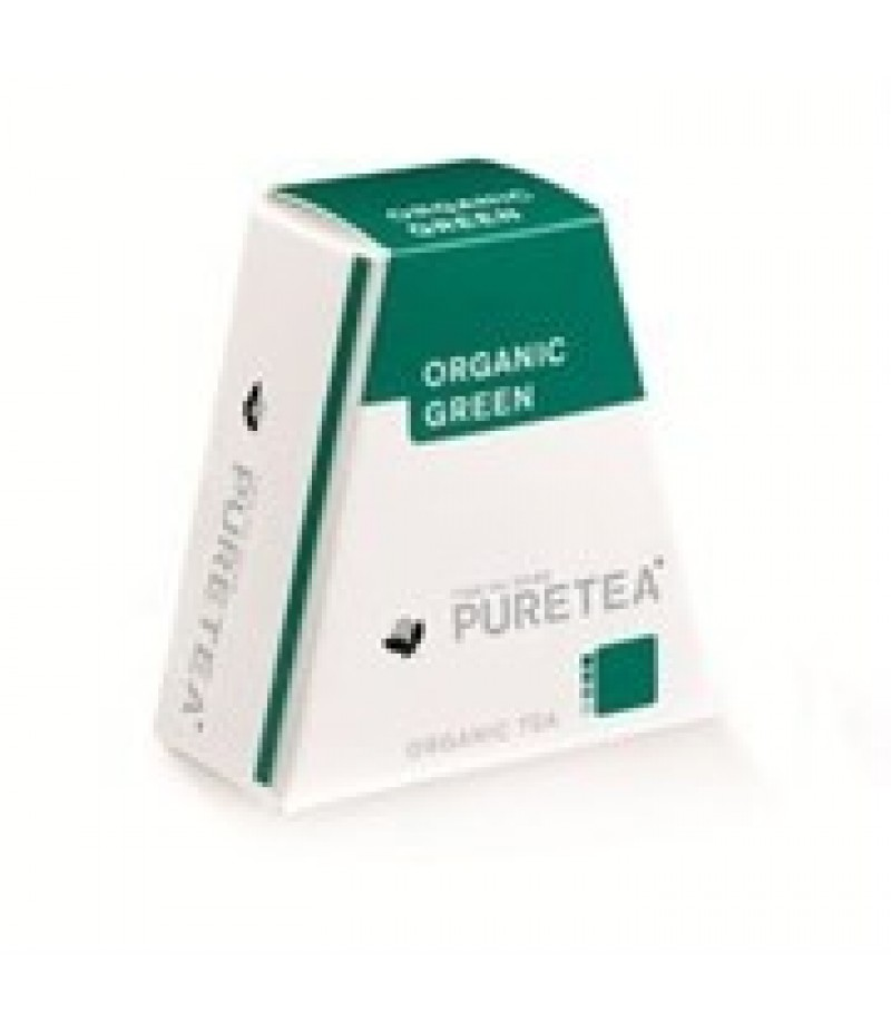 Puretea Organic Green White Line 18 Stuks