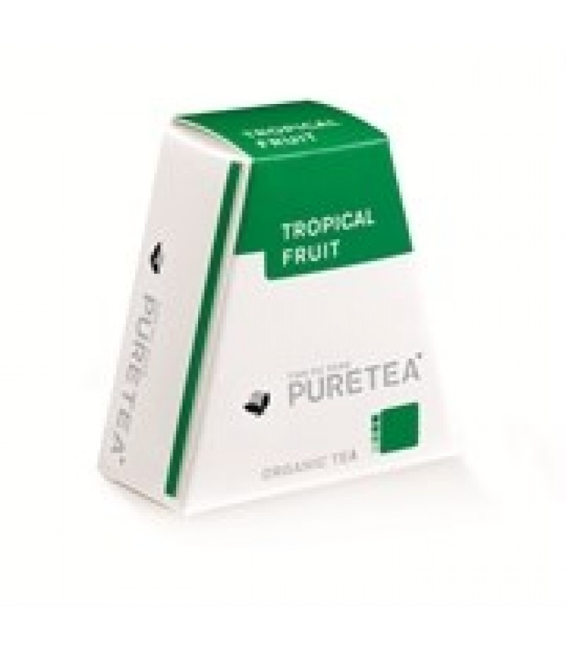 Puretea Tropical Fruit White Line 18 Stuks