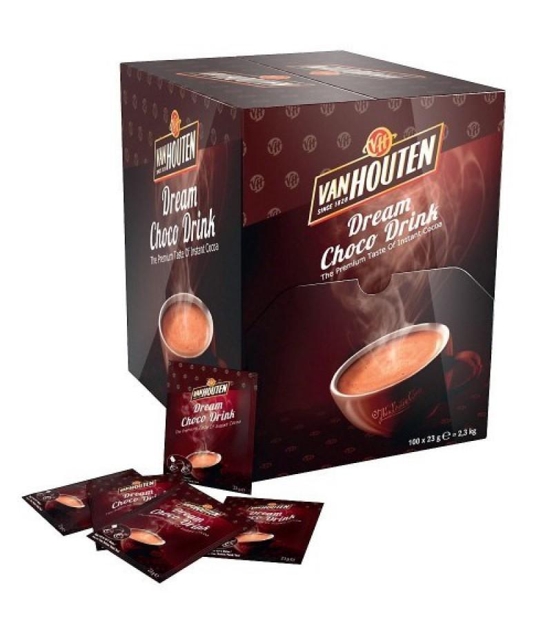 Choco Drink 100x23 gram Sachets Van Houten