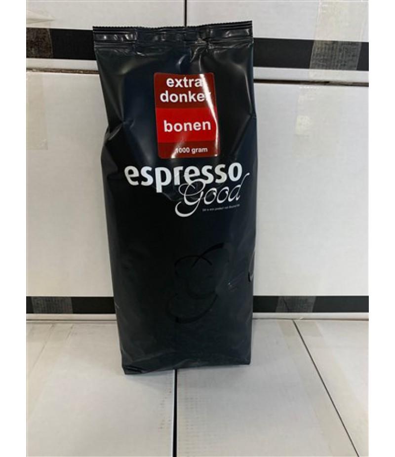 Espresso Good EXTRA Donker Bonen 1 Kilo