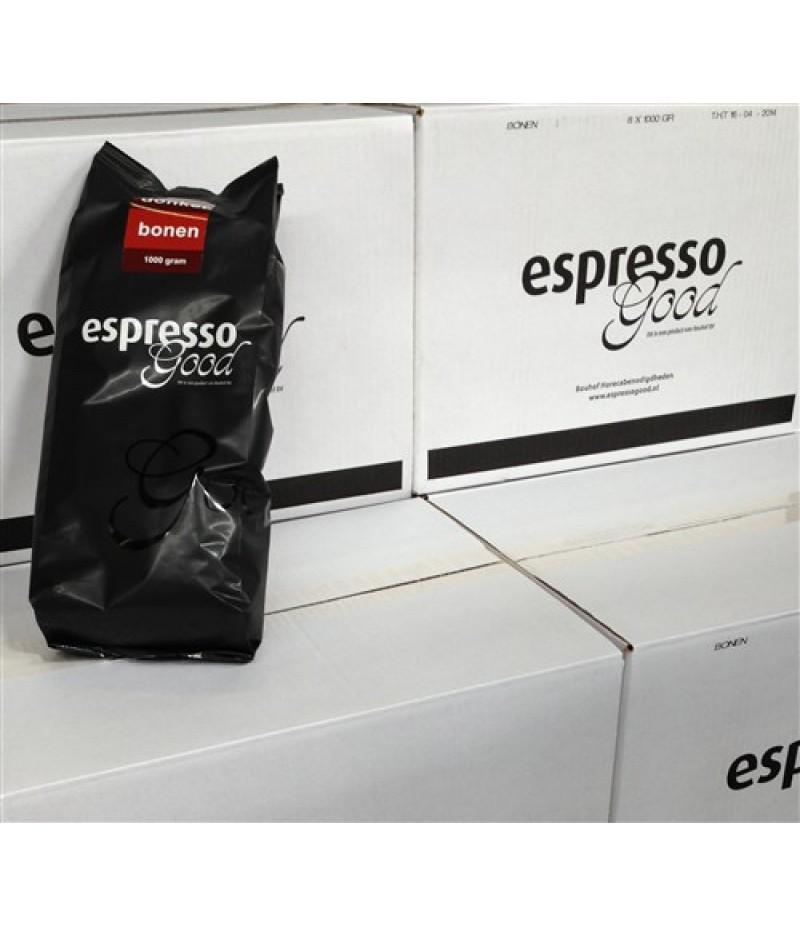 Espresso Good Lichte Bonen 8x1 Kilo
