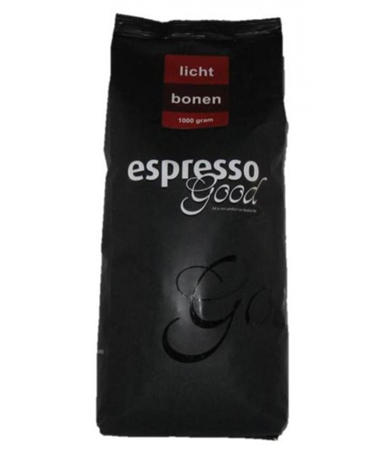 Espresso Good Lichte Bonen 1 Kilo