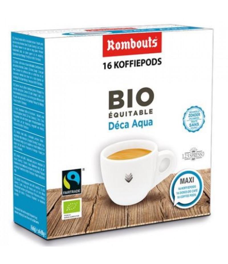 Koffiepods Decafeine BIO 16 Stuks Rombouts