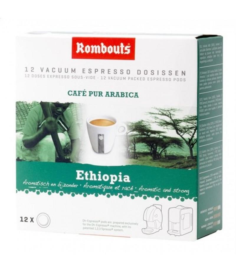 Koffiepods Ethiopia12 Stuks Rombouts