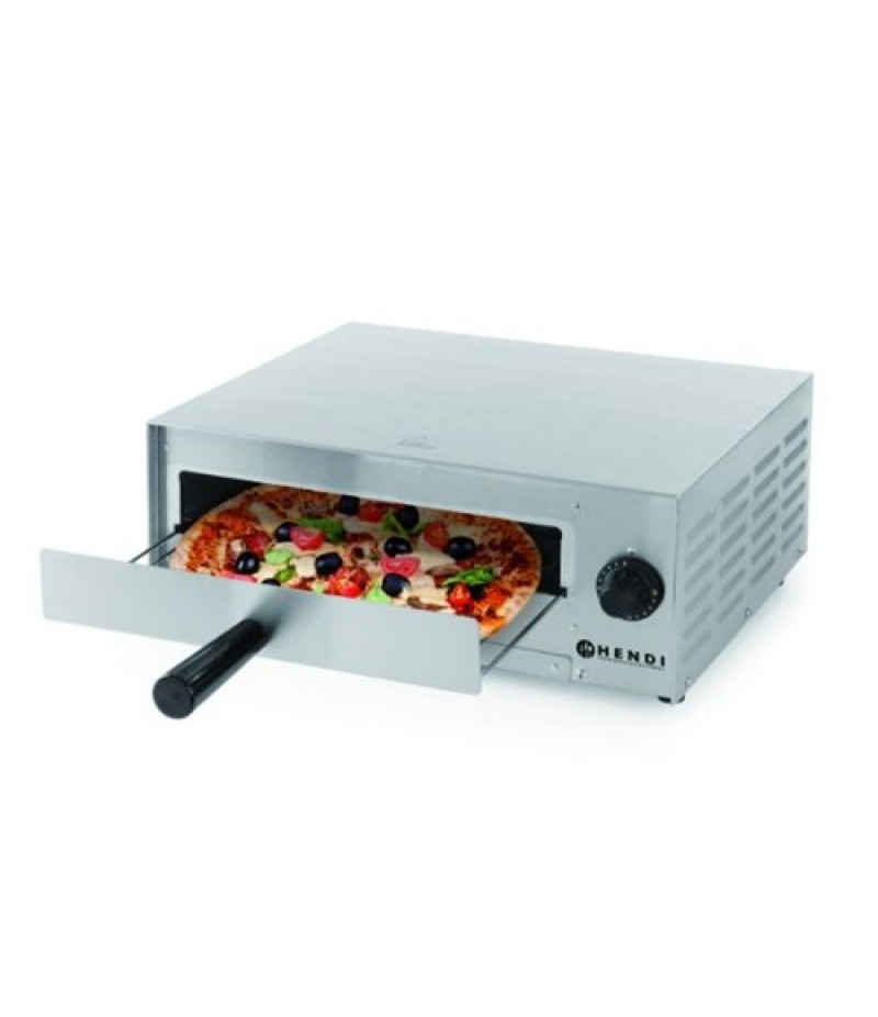 Pizzaoven 480x420x(H)195mm 1300W 230V RVS