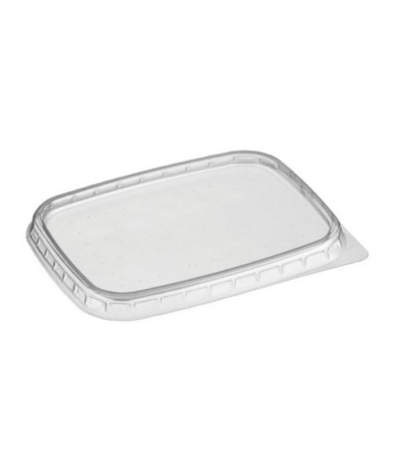 Portion Container PP Deksel 108/DE Glashelder 1000 Stuks
