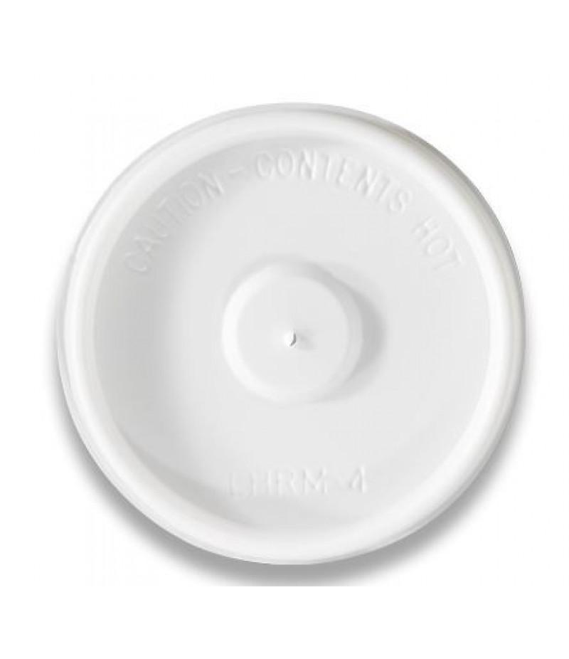 Deksel Hot Cup LHRM-4 100 Stuks