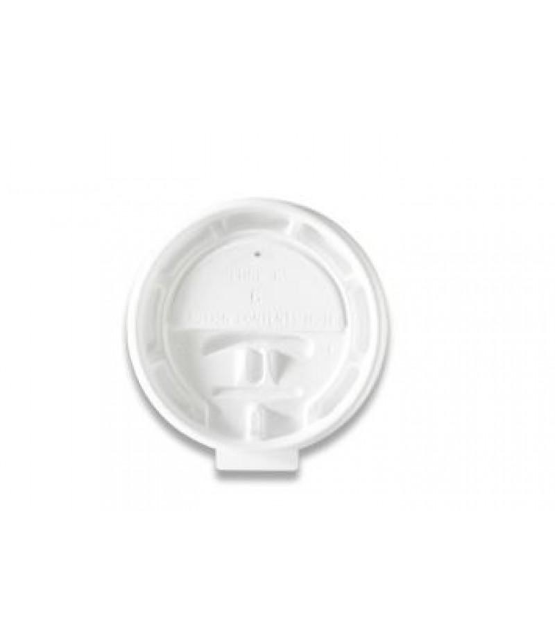 Deksel Hot Cups LHRL-6 Lock Back 100 Stuks