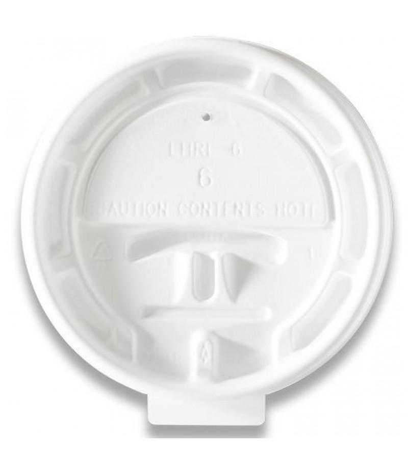 Deksel Hot Cup LHRL-6 Lock Back 100 Stuks