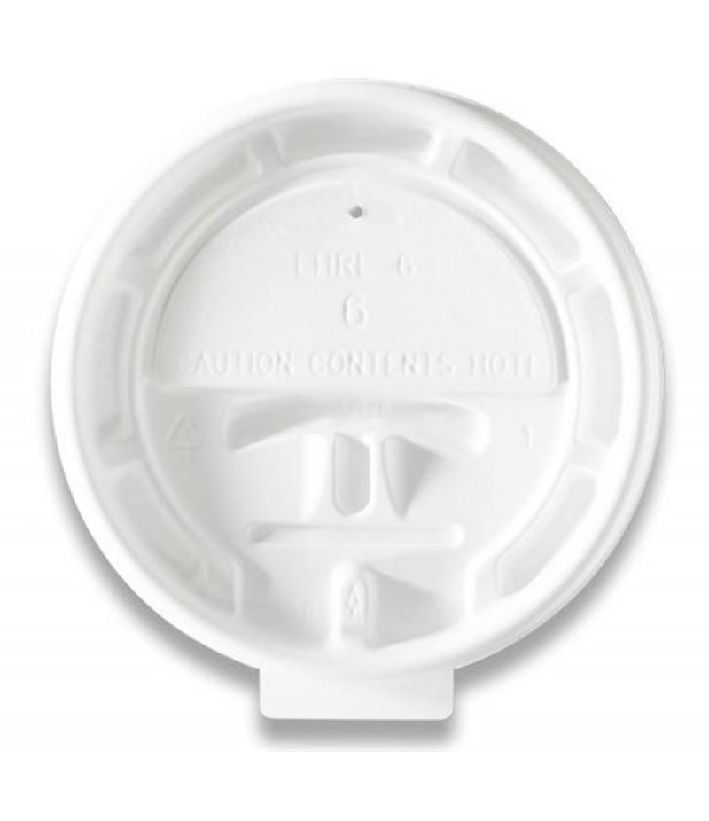 Deksel Hot Cup LHRL-8 Lock Back 100 Stuks