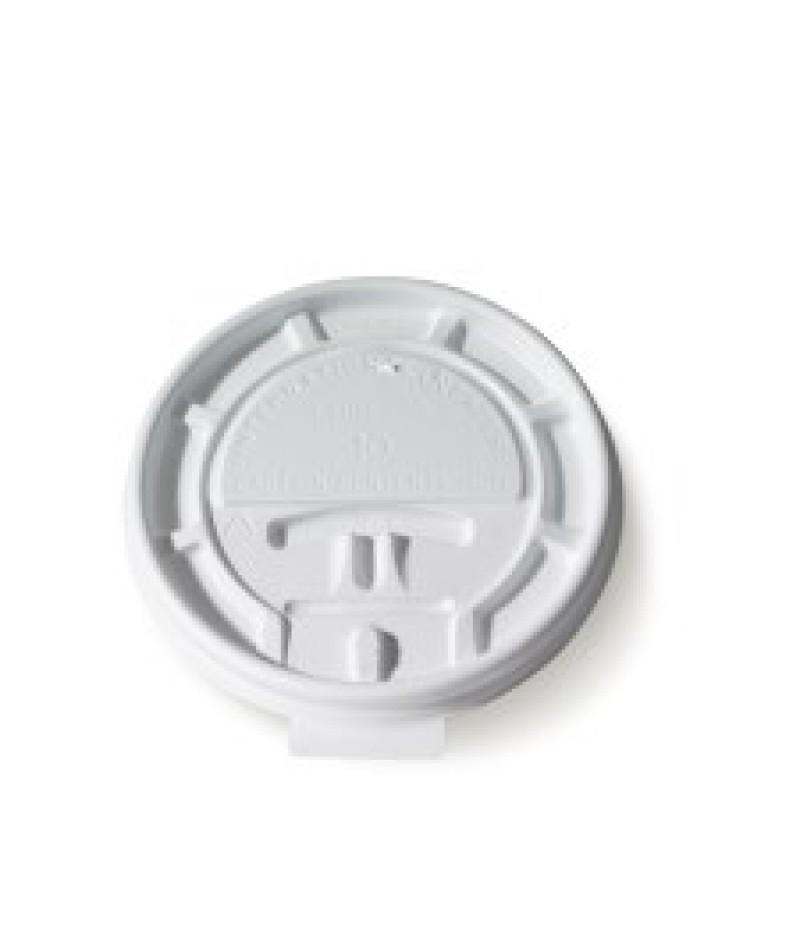 Deksel Hot Cups LHRL-10 Lock Back 100 Stuks