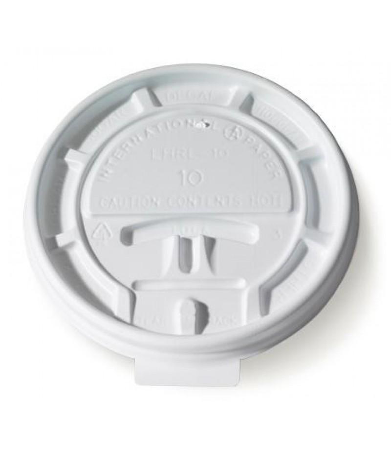 Deksel Hot Cup LHRL-10 Lock Back 100 Stuks