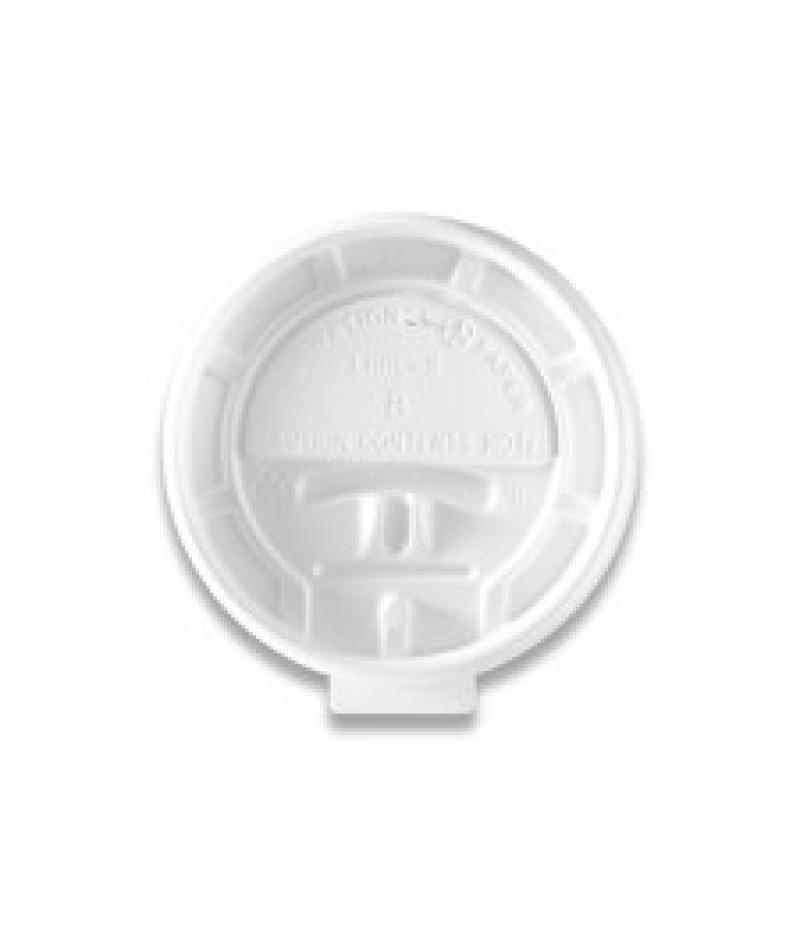 Deksel Hot Cups LHRL-8 Lock Back 100 Stuks