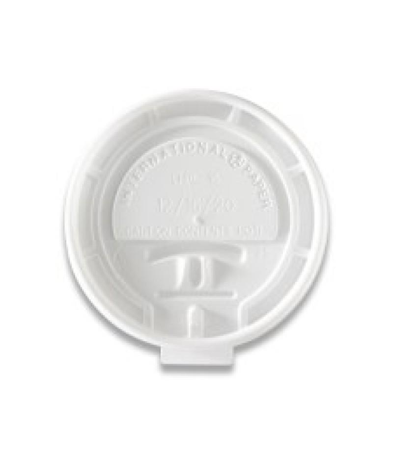 Deksel Hot Cups LHRL-16 Lock Back 100 Stuks