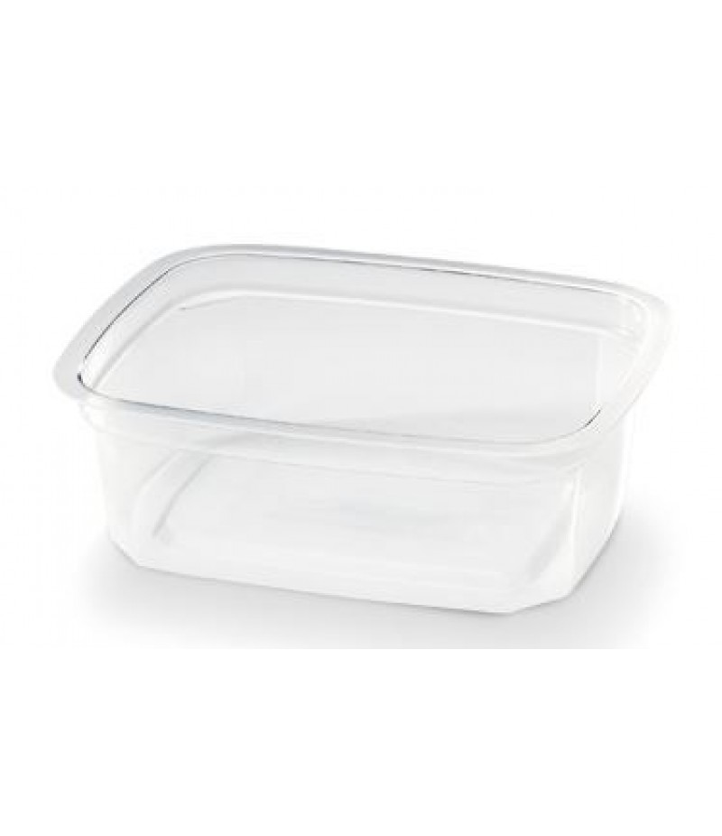 Portion Container PP Rechthoekig 200cc 108x80x42mm 1000 St.