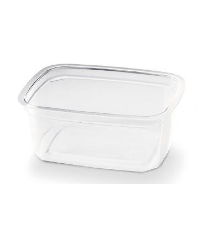Portion Container PP Rechthoekig 250cc 108x80x49mm 1000 St.