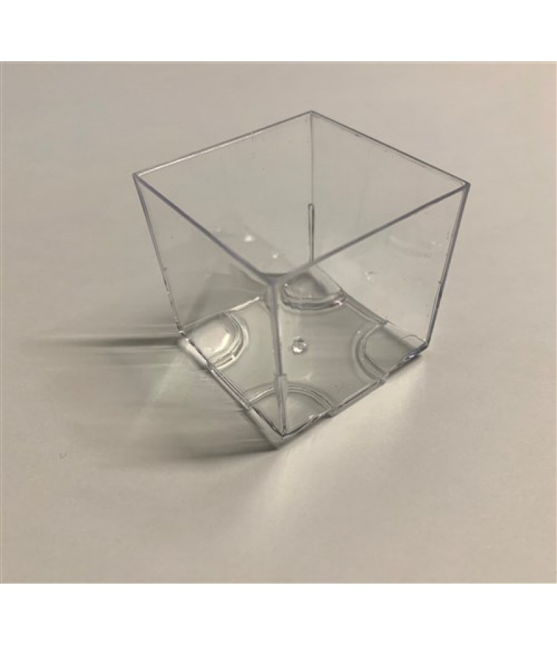 Easy Aperoglas Kubus 20 stuks 4.4x4.4x4x3 cm OP=OP