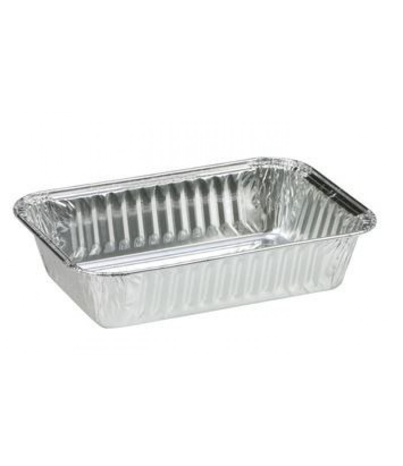 Aluminium Bak Met Kraalrand 1400ml 500 Stuks 76150