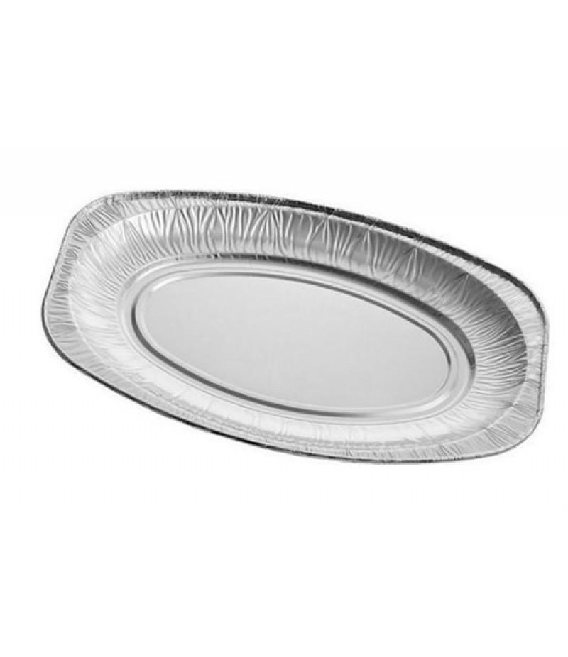 Aluminium Schaal 55cm 10 Stuks