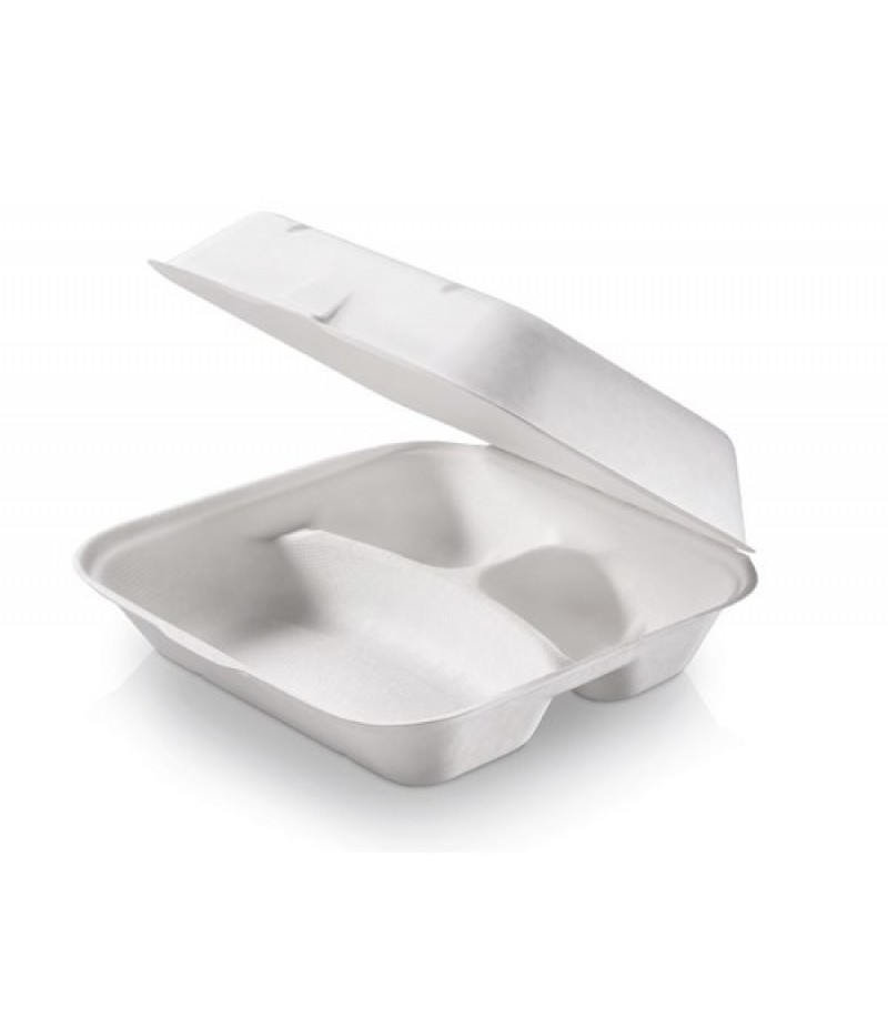 Menubox Suikerriet XL 3-Vaks 235x195x75mm 125 st. 825720