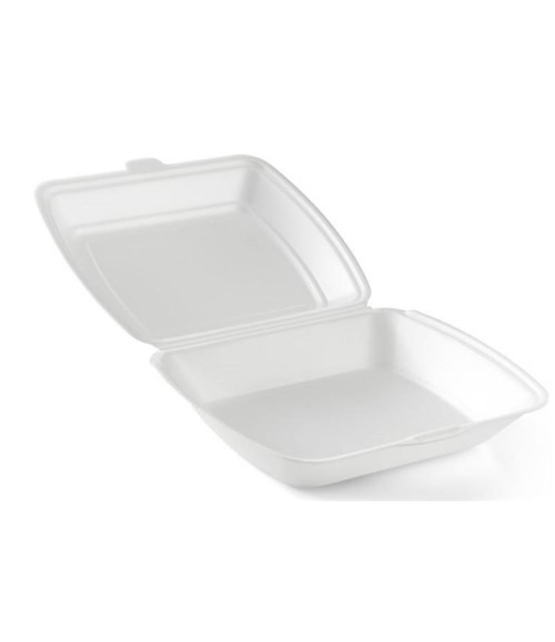Lunchbox Foam XPS Wit 1-Vaks HP-4 200 Stuks