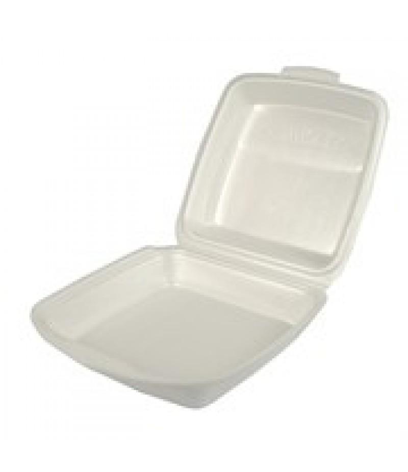 Lunchbox 1-Vaks Wit HP-4 100 Stuks