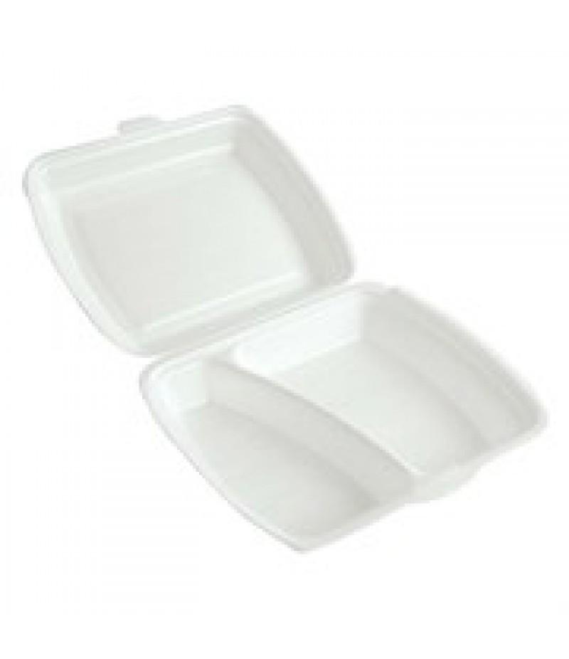 Lunchbox 2-Vaks Wit HP-4 200 Stuks