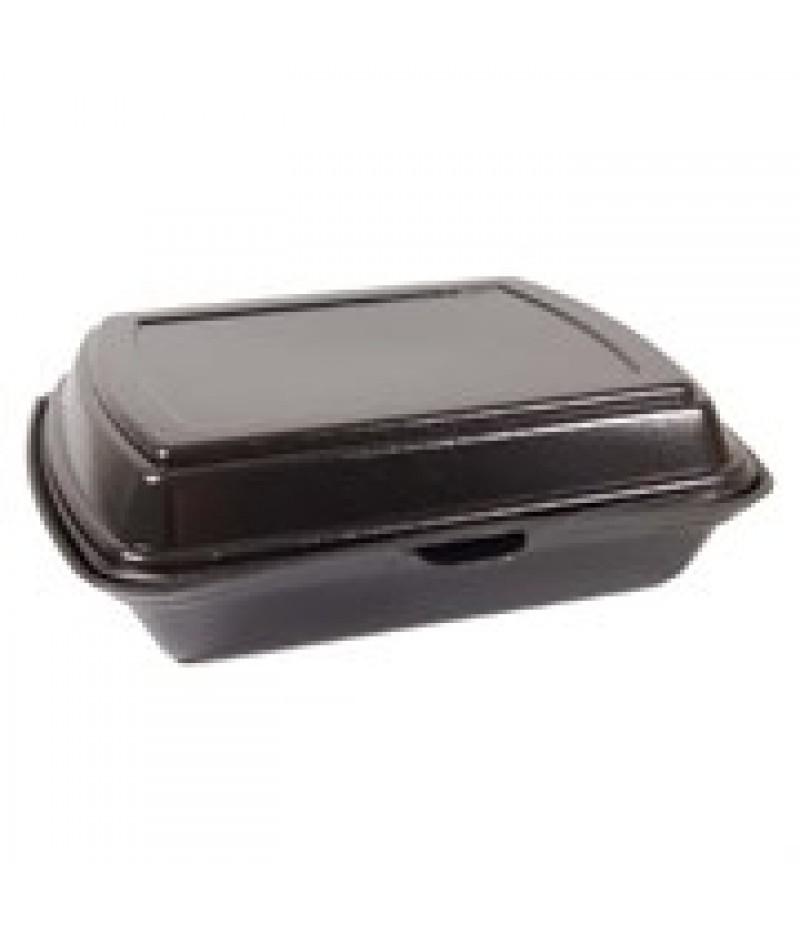 Lunchbox 1-Vaks Zwart HP-4 100 Stuks